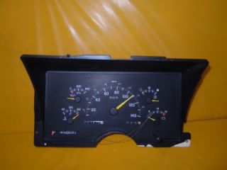 91 GMC Chevrolet 1500 2500 KPH Speedometer Instrument Cluster Dash Panel 201 672