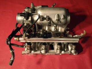 Complete Honda Civic D16Y8 vtec Intake Manifold 5 Speed