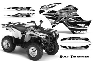Yamaha Grizzly 700 550 Graphics Kit Decals Stickers BTW