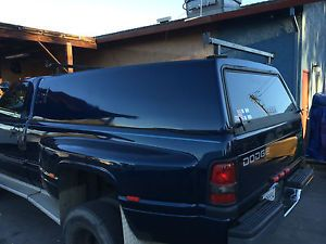 Dodge Truck Leer Shell camper Utility Snug Top Topper Truck RAM Long Bed