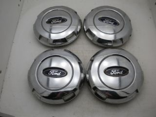 Set of 4 04 05 06 Ford F150 Chrome Wheel Center Caps Hubcaps