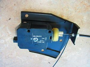 BMW E38 E39 Gas Fuel Door Latch Lock Actuator Assembly Release