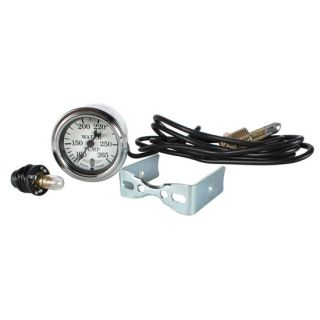 New Stewart Warner Mechanical Water Temp Gauge White