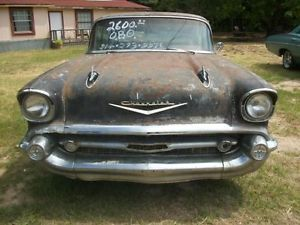 1957 Chevy Bel Air 4 Door Hard Top Parts Car Complete Car