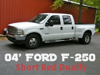 F350 F 350 F250 Dually Dual Rear Wheel Custom Diesel Truck Hauler One of A Kind