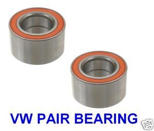 2 Front Wheel Bearing VW Golf Jetta New Beetle 00 05