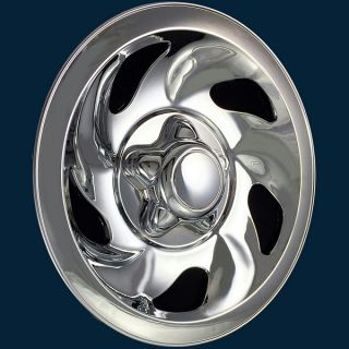 "'97 04 Ford F150 Expedition 16"" Chrome Wheel Skins 5 Slot Steel Rim Imp 01X"