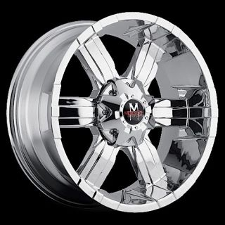 "20"" inch 5x127 5x135 Chrome Wheels Rims 5 Lug Jeep 2WD Chevy GMC Ford F150"