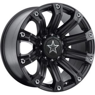 20x10 Black Tis 534B 8x180 19 Wheels Toyo Open Country MT 38x13 50R20LT Tires
