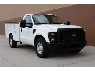 2009 Ford F250 XL 2WD Stahl Utility Bed 5 4L V8 Single Cab Serviced 1 Owner
