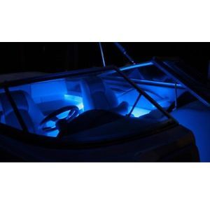 Marine Waterproof LED Boat Lights Interior 8 Piece Kit Universal Red