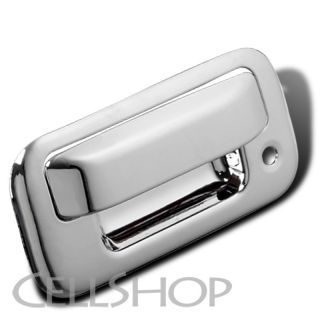 08 12 Ford F250 F350 F450 SD Explorer F150 Chrome Tailgate Handle Cover Cap Set