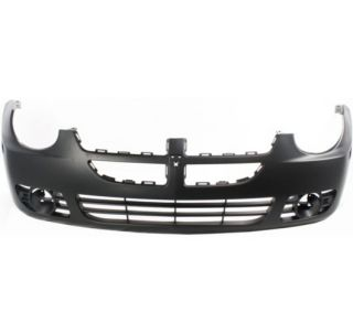 New Bumper Cover Primered Front Plastic Dodge Neon Car