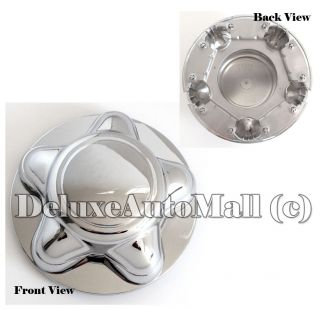 "7"" Wide Chrome New Wheel Center Cap for Ford F150 Ford Expedition 1 Piece"