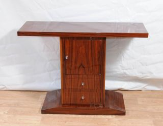 Art Deco Console Table Cabinet Chest Hall Tables 1920s Furniture