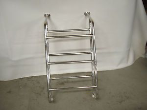 Four Winns Wellcraft Stainless Boat Marine Ladder 3 Step Mount Stairs Boarding