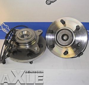 2 New Front Wheel Hub Bearing Assembly Both Ford Lincoln 2003 2006 Rwd