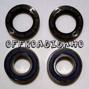 Front Wheel Bearings Seals Kawasaki Mule 500 1000
