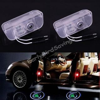 No Drill Car Laser Projector Logo Ghost Door Courtesy LED Light for Skoda Superb