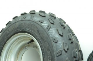 87 Suzuki Quadsport 230 Front Wheels Rims Tires ITP Radial Pro Trak 21X7R10 Lt