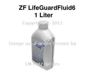 ZF Lifeguard Fluid for 6 Speed Auto Transmissions BMW Rover Jaguar Porsche VW