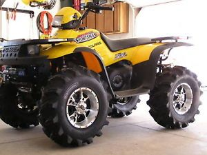 "26"" Honda Rancher Executioner ATV Tire Wheel Kit"