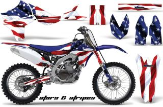 AMR Racing MX Moto Dirt Graphic Sticker Kit Yamaha YZ450F YZ 450f Part 2010 2012