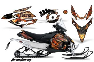 AMR Racing Snowmobile Decal Sled Graphic Kit Yamaha Phazer RTX GT MTX 07 12