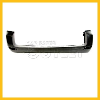 06 07 08 Toyota RAV4 Rear Bumper Facial Cover Primed Black Wo Extension Hole New