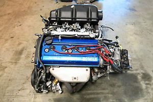 JDM Toyota Corolla 4AGE Blacktop Engine 20VALVE DOHC Engine 5 Speed 4A GE Levin