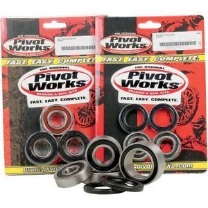 Pivot Works Front Wheel Bearing Kits Honda GL1800 Goldwing 01 10