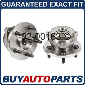 Pair Jeep Liberty Front Wheel Hub Bearings 2002 2005