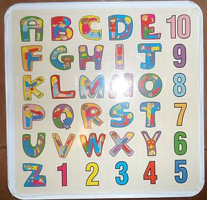 Magnetooli Magnetic Letters Numbers with Board
