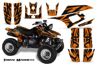 Yamaha Warrior 350 Graphics Kit Decals Stickers TMO