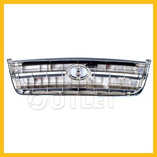 03 06 Toyota Tundra SR5 Front Grill Grille Assembly New Chrome Bar Replacement
