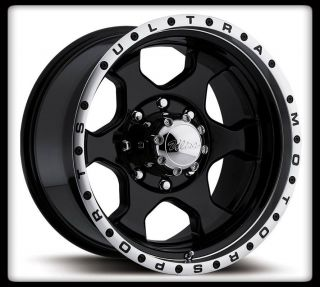 "18"" Ultra 175B Rogue Black Rims Toyo 35x12 50x18 Open Country AT2 Wheels Tires"