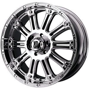 22x9 5 Chrome XD XD795 Hoss 6x135 30 Rims Toyo Open Country MT 35x12 5x22 Tires