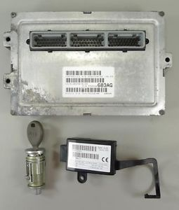 00 Grand Cherokee at ECU ECM PCM Engine Computer P56044 683AG Key Immobilzer Kit