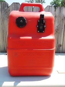 Mercury Quicksilver 6 6 Gal Marine Boat Fuel Gas Tank w Gauge