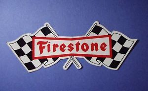 Racing Sticker Car Stock Hot Rod Firestone Tires Drag
