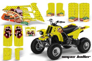 AMR Racing ATV Quad Yamaha Banshee Graphics Kit Stickers 350 Free USA Shipping