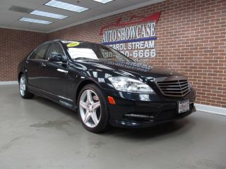 2010 Mercedes Benz S550 4MATIC AMG Sport Package Factory Warranty