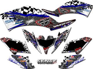2003 2004 2005 2006 2007 2008 YFZ 450R YFZ450R 450 R Yamaha Graphics Kit Deco