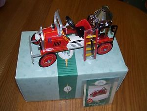 "Hallmark Kiddie Car Classic ""1924 Toledo Fire Engine 6 St Brigade Series"