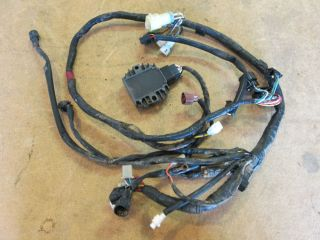 Yamaha Raptor 660 660R YFM660 Wireharness w Regulator Rectifier 2002 2005