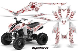 Yamaha Raptor 350 Graphics Kit Creatorx Decals Stickers SXRWC