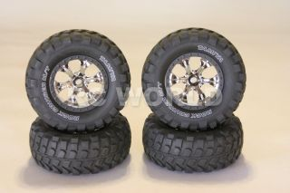 RC 1 10 Tamiya Truck Rims Wheels Tires CC 01 FJ40 Bronco Truck Wheels