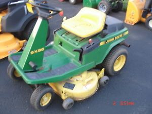 John Deere SX95 Rear Engine Rider