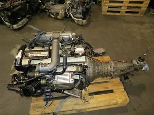 Nissan Skyline R32 GTS Turbo Engine Transmission ECU Silvia 240sx JDM RB20DET