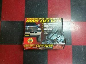 Ford Bronco II 1989 1990 Performance Accessories Body Lift Kit 70003
